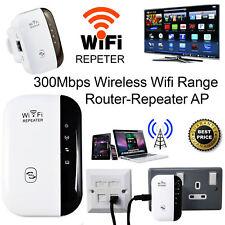 WiFi Ripetitore Amplificatore segnale router wireless range extender rete LAN EU