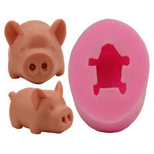Soap Mould Candle Mold Craft Mold DIY Creative Handmade Silicone 3d Pig