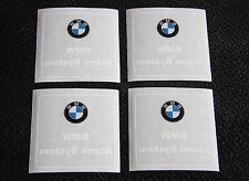 4x BMW ALARM SYSTEM | AUTO ALARM AUFKLEBER | FOLIENAUFKLEBER SCHEIBENAUFKLEBER