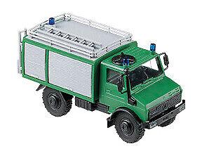 Roco Minitanks H0 694 Unimog U 2450 BGS FLF