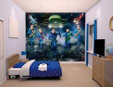 "Walltastic ""Thunderbirds are Go"" Wallpaper Mural, Paper, 8 x 10 ft"