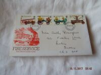 POST OFFICE FIRST DAY COVER FIRE SERVICE