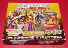 DEMONS & DRIVERS * Ghouls 'n' Ghosts / Turbo Outrun * Sinclair ZX Spectrum Game