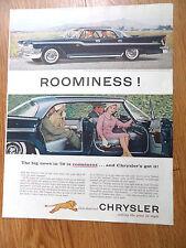 1959 Chrysler Windsor 4 Door Hardtop Ad