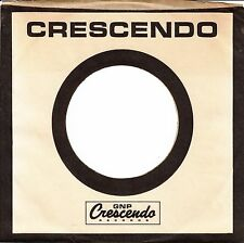Company Sleeve 45 Crescendo - White W/ Black Writing And Border