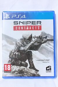 Sniper Ghost Warrior Contracts PS4 Playstation 4 NEW & SEALED Same Day Dispatch