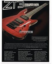 2008 STEINBERGER ZT3 Electric Guitar advertisement