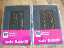 Seymour Duncan SH-8 Invader Humbucker Pickup Set Neck and Bridge Black New