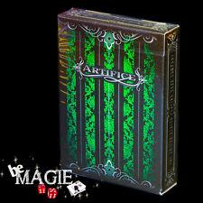 Jeu ARTIFICE VERT MINI - Version Emerald - poker - magie - cartes Bicycle