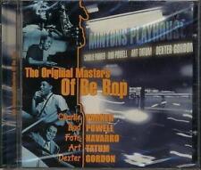 THE ORIGINALS MASTER OF BE BOP PARKER POWELL NAVARRO TATUM CD SEALED SIGILLATO