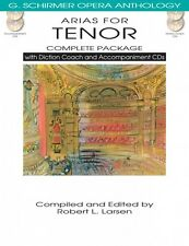 Arias for Tenor Complete Package with Diction Coach and Accompaniment  050498719