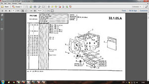 Renault 95-14 (03.86 - 02.91) tractor parts catalog in PDF format