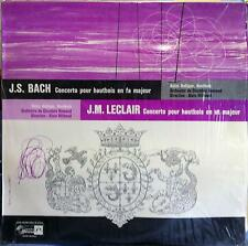 HEINZ HOLLIGER & MILHAUD bach / leclair concerto hautbois LP Mint- Rare French
