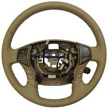 2011-2012 Toyota Avalon Steering Wheel Complete New Ivory Leather 4510007360A0