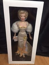 "Franklin Mint Marilyn Monroe 16"" Vinyl Portrait Doll- Millennium Marilyn"