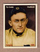 Ty Cobb, '05 Detroit Tigers rookie season, rare NYC cab card  🔥