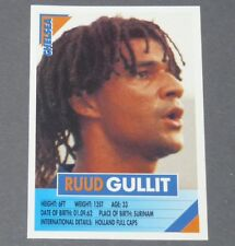 65 RUUD GULLIT NEDERLAND CHELSEA BLUES PANINI FOOTBALL PREMIER LEAGUE 1995-1996