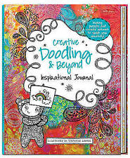 Creative Doodling & Beyond Inspirational Journal 'Inspiring prompts and colorful