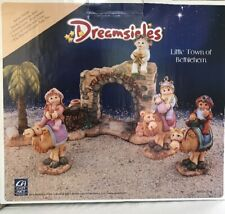 Dreamsicles Little Town Of Bethlehem Cast Art 2000 Christmas Nativity In Box