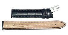 FRANCK MULLER 16 mm cinturino strap  cod 661904 in coccodrillo Louisiana blu