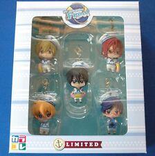 Free! - Mini Figure : Karakore 5 types sets - Haruka Makoto Rin Rei Nagisa - LTD