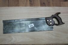 "Spear and Jackson 1916 Long Tenon Saw 19"" in great condition"