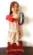 Automate Poupée Gitane Toy Automaton Fête Foraine Jeux Forain Jouet Doll Rare