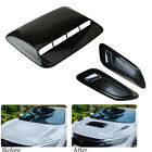 Center&Side Air Flow Vent Intake Decorative Cover ABS Plastic For Car Hood 3Pcs