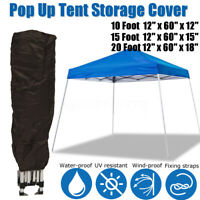 Tent Cover Bag Straight Leg Canopy Garden Outdoor Protect for 10x10 10x15