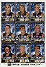 2005 AFL Teamcoach Trading Card Silver Team set Carlton (9)