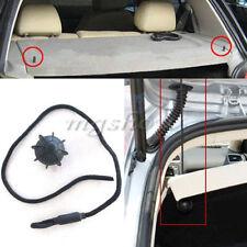 Car Vehicle Parcel Shelf String Strap Cord Rope Black For VW Golf R20 (L49)
