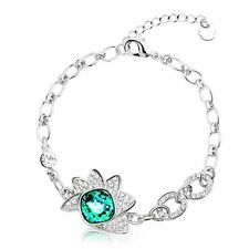 **CLEARANCE Crystal Ice Bracelet w/Swarovski Green COST PRICE ONLY**