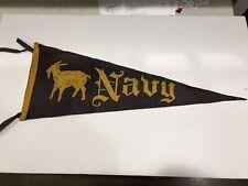 Vintage Navy Felt Pennant circa 1920's/1930's