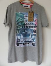 "BNWT Brave Soul Men's Short-Sleeved T-Shirt ""On Tour"", Size M, Brand New!"