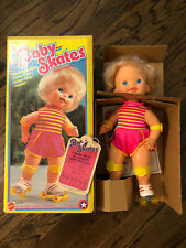 BABY SKATES Doll w/ Box 1982 Mattel NEW IN BOX