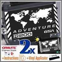 11pcs Kit for R 1200 GS Reflective White BMW ADVENTURE Touratech ADESIVI r1200gs