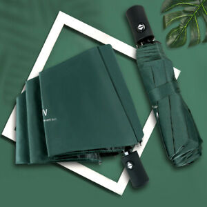 Parasol UV Umbrella Sunshade Beach Umbrella Dual-Use 8 Bone Folding Sun Umbrella