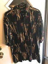 Puritan XL Rayon Hawaii Design Shirt w/Long Tail(B29)