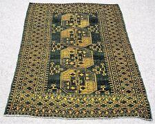 Vintage Persian FELPA BUKHARA  5'X7' Handknotted100%Wool Pile Rug GM*210