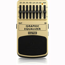Behringer EQ700 Graphic Equalizer Guitar and Keyboard Effects Stompbox Pedal