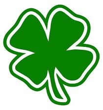 FOUR LEAF CLOVER Vinyl Decal Sticker Car Window Wall Bumper Lucky Symbol Irish 4