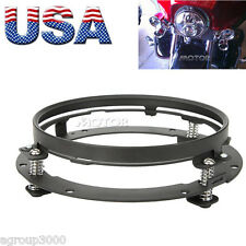 "7"" LED Headlight Mounting Ring Bracket for Harley-Davidson Softail Fat Boy"