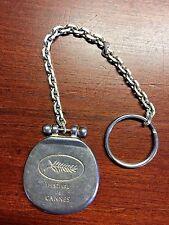 Cannes International Film Festival 50th Anniversary Metal Key Chain souvenir