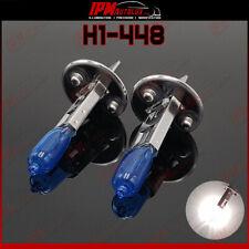 H1 448 Kit Set Halogen LED Light Bulbs Xenon Look White Dipped Low Beam Canbus