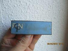 Ancienne Broche Émaillée FCNP F C N P à identifier FCPN ?  militaire ? insigne