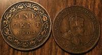 1903 King Edward VII Canada Large Cent Grade G+