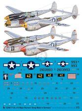 Peddinghaus 1/72 P-38J-15-LO Lightning Markings Richard Bong Pacific WWII 2467