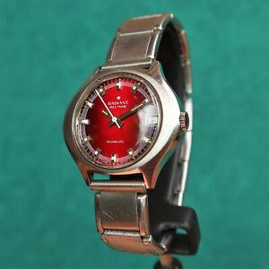 RADIANT Blumar Steel Vintage Watch AS ST 1950/51 Reloj Montre Orologio Uhr Swiss