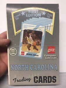 Vintage North Carolina Tarheels Collegiate Cards Box Rookie Star Michael Jordan