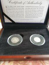 More details for us civil war silver set